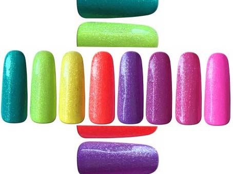 Glitter UV Gele