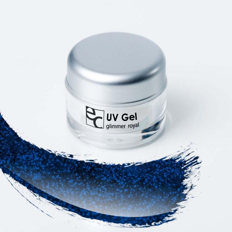 NEU! UV Gel Glimmer royal, 5ml
