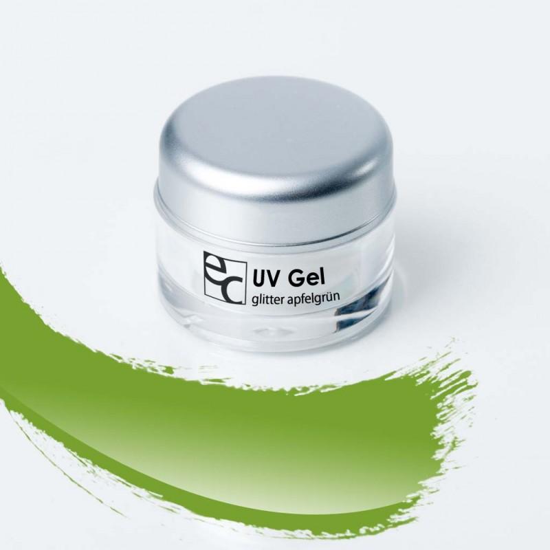 UV Gel Glitter apfelgrün, 5g