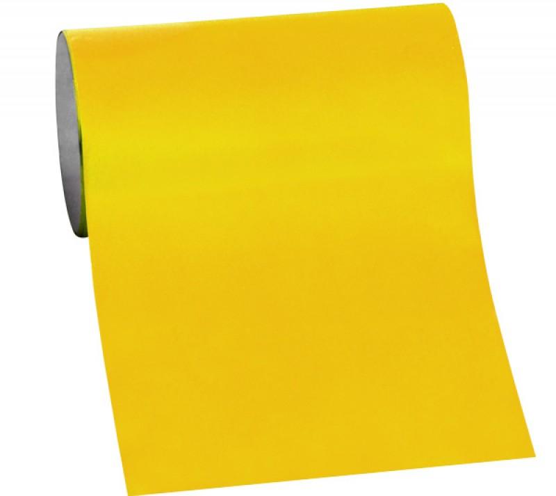Stick on Folie gelb