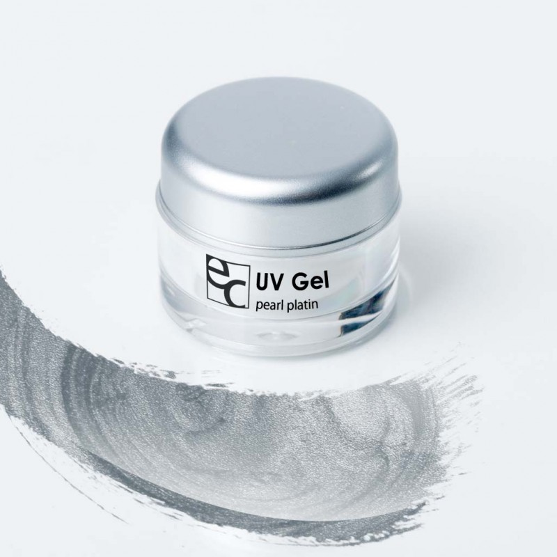 UV Gel Pearl platin, 5ml