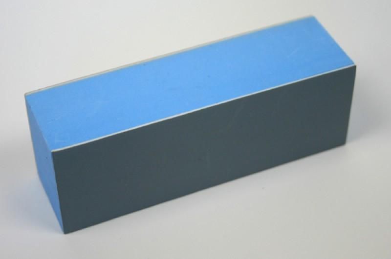 Polierblock grau 4-seitig