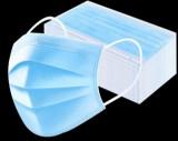 Hygiene Mundschutz  blau 50St.