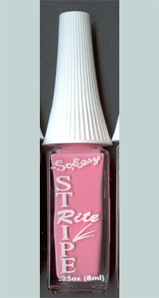 Stripe and Paint Nailartfarbe rosa, 8ml